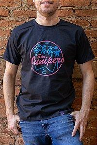 Camiseta Geek Masculina Black Mirror San Junipero