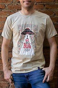 Camiseta Masculina Arquivo X - I Want to Believe