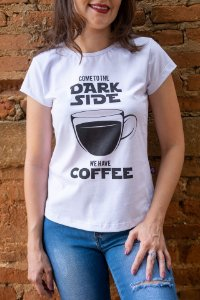 Camiseta Feminina Star Wars - Dark Side