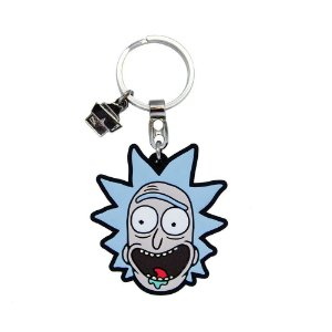 Chaveiro de Borracha Rick RICK AND MORTY Oficial