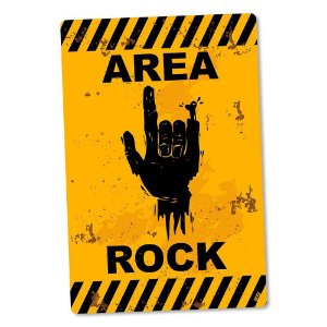 Placa Decorativa 24x16 Area Rock
