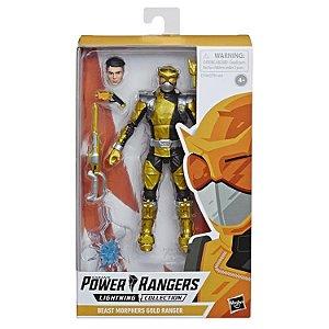 Power Rangers Beast Morphers Lightning Collection Gold Ranger