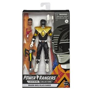 Mighty Morphin Power Rangers Lightning Collection Black Ranger
