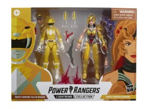 Mighty Morphin Power Rangers Lightning Collection Yellow Ranger Vs. Scorpina Battle Pack Novembro/21