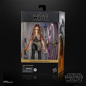 Star Wars The Black Series Deluxe Jar Jar Binks 6 Polegadas Action Figure