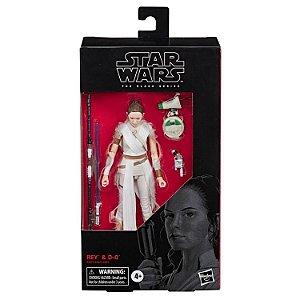 "Star Wars: The Black Series 6"" Rey & D-O"