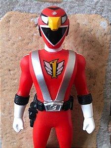 Engine Sentai Go-Onger go-on red vinyl 17cm