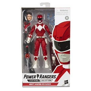 Power Rangers Lightning Collection Red Ranger pré-venda 30 dias