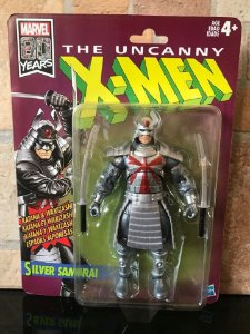 The Uncanny X-Men Marvel Legends Retro Collection Silver Samurai entrega 30 dias