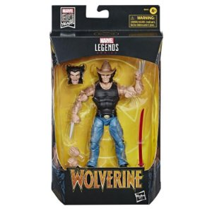 Marvel Comics 80th Anniversary Marvel Legends Cowboy Logan, entrega em 30 dias
