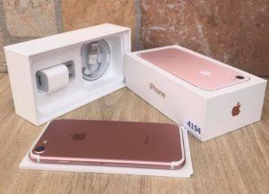 Iphone 7 32GB Rosa usado lote 4194