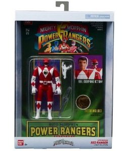 Power Rangers Legacy Red Ranger Head Morph Figure Entrega em 30 dias