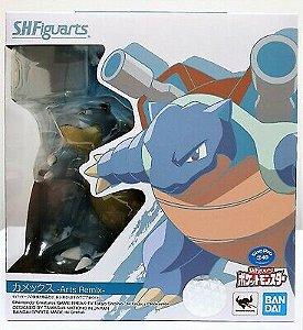 S.H.Figuarts Blastoise Arts Remix Pokemon Action Figure