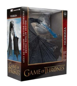 Game of Thrones McFarlane Toys Viserion Ice Dragon Deluxe Action