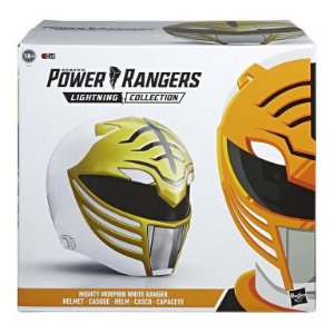 Mighty Morphin Power Rangers Lightning Collection White Ranger 1:1 cosplay entrega em 30 dias