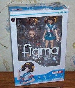 Suzumiya Haruhi no Yuuutsu - Suzumiya Haruhi - Figma #034 - Summer School Uniform Ver. (Max Factory)