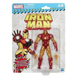 Marvel Legends Retro Collection Iron man Homem de Ferro