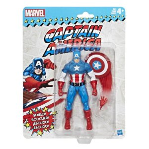 Marvel Legends Retro Collection Captain America Capitão américa