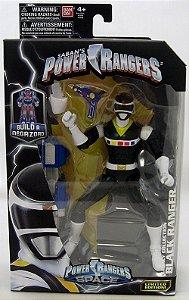 "Power Rangers In Space Legacy 6"" Black Ranger"