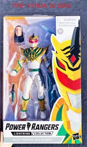 Power Rangers Lightning Collection Mighty Morphin Power Rangers Lord Drakkon Pré-venda 30 dias