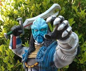 Personagem Buba dos changemans estátua 30cm