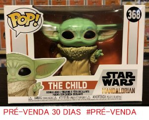 Funko Pop Star Wars The Mandalorian THE CHILD #368 Baby YODA PRÉ-VENDA 30  DIAS