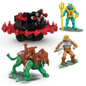 Masters of the Universe Mega Construx Probuilder Battle Cat Vs. Roton Playset ENTREGA EM AGOSTO