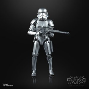 "Star Wars: The Black Series 6"" Stormtrooper (Carbonized) ENTREGA EM 30 dias"