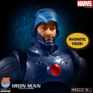 Marvel One:12 Collective Iron Man (Stealth Armor) PX Previews Exclusive ENTREGA EM 30 DIAS