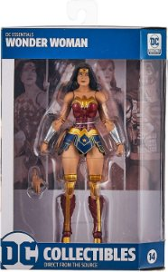 DC Collectibles Essentials: Wonder Woman Action Figure, Multicolor ENTREGA 30 DIAS