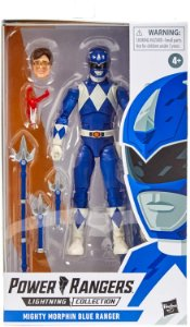 Power Rangers Lightning Collection Mighty Morphin Blue Ranger  PRÉ-VENDA 30 dias