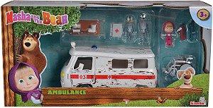 Masha e o urso, episodio da ambulância, produto importado 30 dias de espera