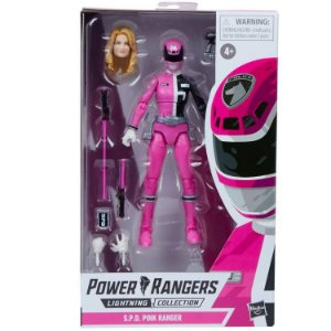 Power Rangers S.P.D. Lightning Collection Pink Ranger entrega em Abril 2021