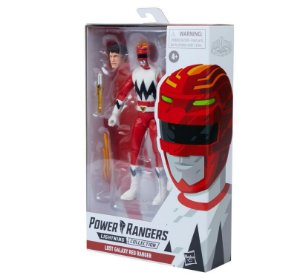 Power Rangers Lost Galaxy Lightning Collection Red Ranger entrega em abril de 2021