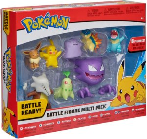 Pokemon Battle Figure Multi 8 Pack entrega em 25 dias