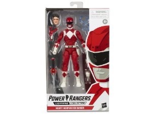 "Power Rangers Lightning Collection 6"" Mighty Morphin Red Ranger PRONTA ENTREGA"