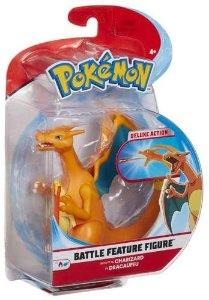 "Pokemon 4.5"" Battle Feature Figure - Charizard PRONTA ENTREGA"
