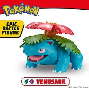 "Pokemon Venusaur 12"" Epic Battle Figure ENTREGA EM 25 dias"