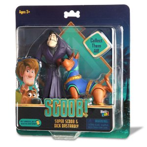 "Scoob! 6"" Action Figures 2 Pack - Super Scooby and Dick Dastardly (Walmart Exclusive)"