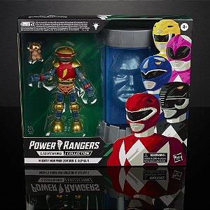 Power Rangers Lightning Collection Mighty Morphin Zordon & Alpha 5 PRONTA ENTREGA