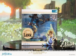 Breath of the Wild Link Statue Collector's Edition entrega em março