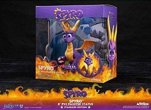"""Spyro The Dragon 8"""" Statue entrega em 25 dias"""
