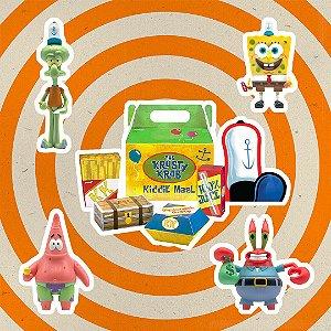 SpongeBob SquarePants ReAction Krusty Krab Meal NYCC 2020 Exclusive entrega em 25 dias