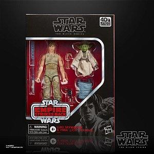 Luke Skywalker & Yoda (Jedi Training) Two-Pack entrega em 25 dias