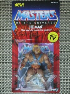 Masters of the Universe Vintage He-Man Pronta entrega