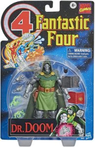 Marvel Vintage Series Dr. Doom Fantastic 4 Pronta entrega