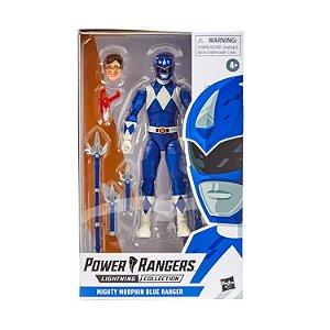 Mighty Morphin Power Rangers Lightning Collection Blue Ranger Pronta entrega