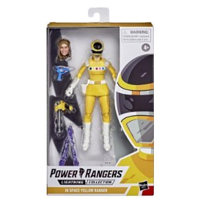 Power Rangers In Space Lightning Collection Yellow Ranger Pronta Entrega