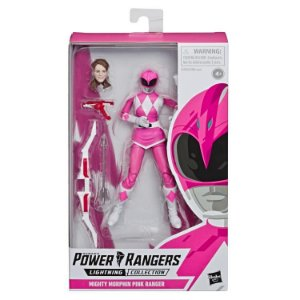 Mighty Morphin Power Rangers Lightning Collection Pink Ranger Pronta entrega