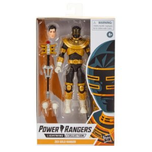 Power Rangers Lightning Collection ZEO GOLD RANGER PRONTA ENTREGA